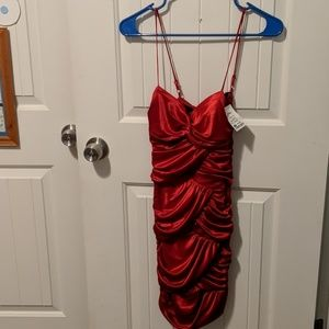 Brand New red party dress